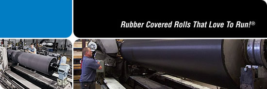 Valley Roller Rubber Covered Rolls
